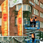 Flags in Kista